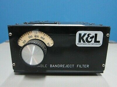 Kl 3tnf-250500-nn Tunable Bandreject Filter 250500mhz
