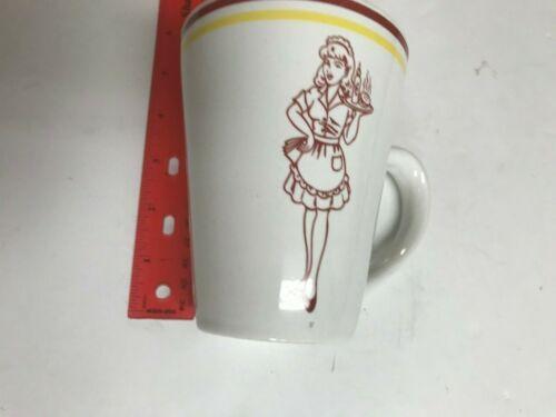 "All American Waitress Mug 5"" Tall"