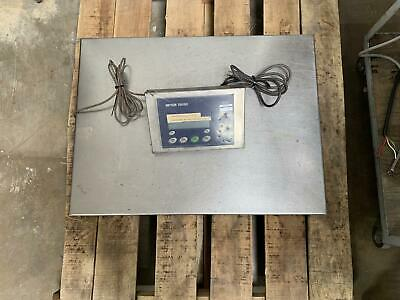 Mettler Toledo Stainless Steel Scale W Ind429 Indicator Readout 62032133 0805