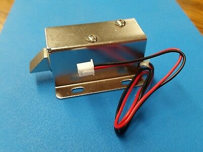 Dc 12v Electric Lock Assembly Solenoid 0.6a