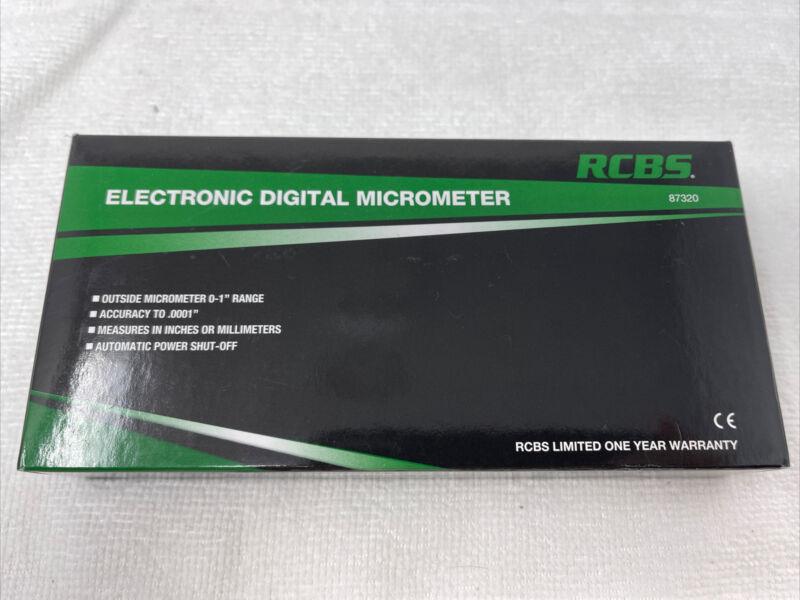 RCBS Electronic Digital Micrometer #87320