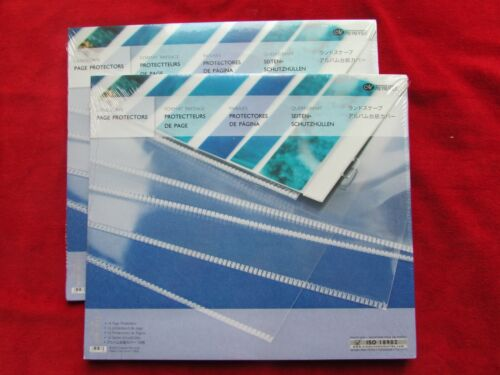 2 Pkg (32) Creative Memories Scrapbook Landscape 12x10 Page Protectors NOS