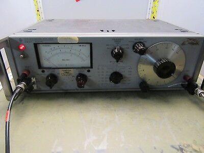 Hewlett Packard Hp 331a Distortion Analyzer 600ohm Audio Frequency 4o-21