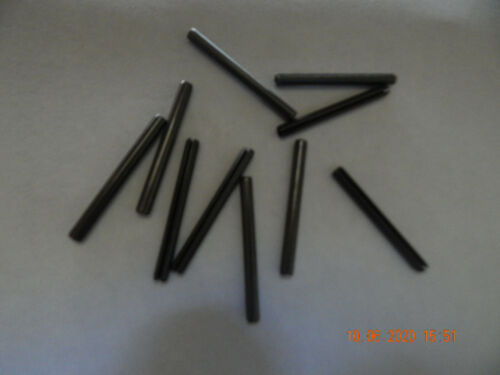 """ROLL PINS   CARBON STEEL  3/16 x 2""""  10 PCS. NEW"""