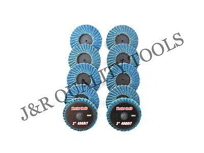 Vct 40 Grit 2 Roloc Sanding Flap Discs Zirconia 10pc