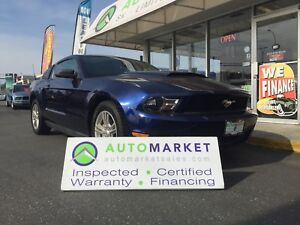 2010 Ford Mustang V6 Coupe, 5 spd. LIKE NEW & WARRANTY TOO!