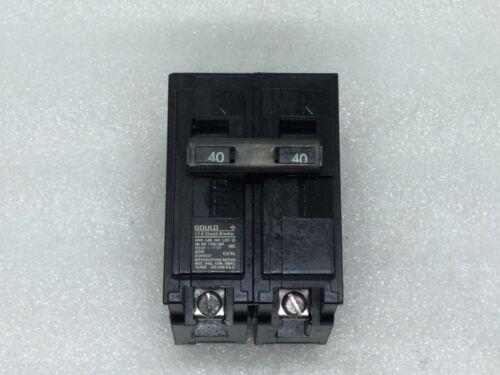 GOULD Q240 40 Amp Double Pole  Circuit Breaker Q240 I-T-E