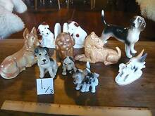 Pt 1. BULK Collection 27 China Collectable Dog Figurines Hilton Fremantle Area Preview