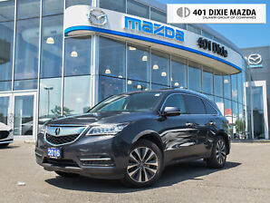 2016 Acura MDX NAVI PKG|ONE OWNER|NO ACCIDENTS|