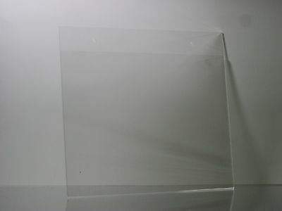 11 x 8.5 Clear Acrylic Wall mount sign holder display frames lot of 6 - Mounted Sign Holder