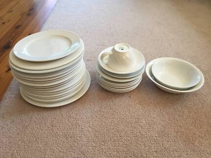 Mixed Crockery - sideplates saucers bowls teacup Maroubra Eastern Suburbs Preview & Cafe crockery for sale - plates bowls etc | Dinnerware | Gumtree ...