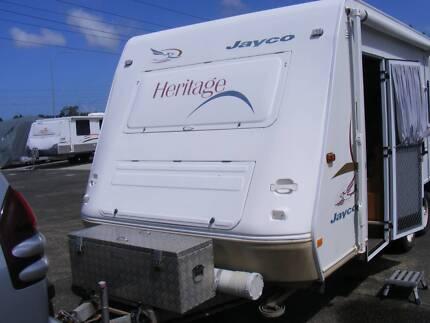 21ft 2005 Jayco Heritage Dual Axle Caravan Buderim Maroochydore Area Preview