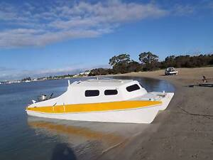 Catamaran motor and sail boat Armadale Armadale Area Preview