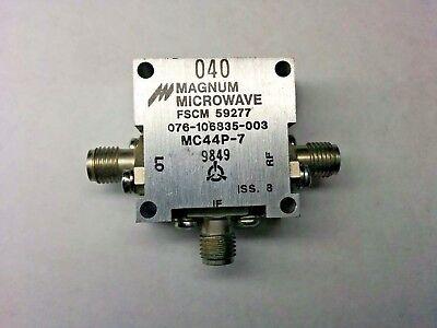 Magnum Microwave Mc44p-7 Coaxial Rf Mixer Fscm 59277
