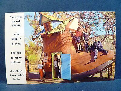 Postcard SD Rapid City Black Hills Old Woman's Shoe Storybook (Rapid City Women)