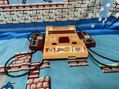 Famicom Console Japan NTSC-J Nintendo Family Computer console & controllers only