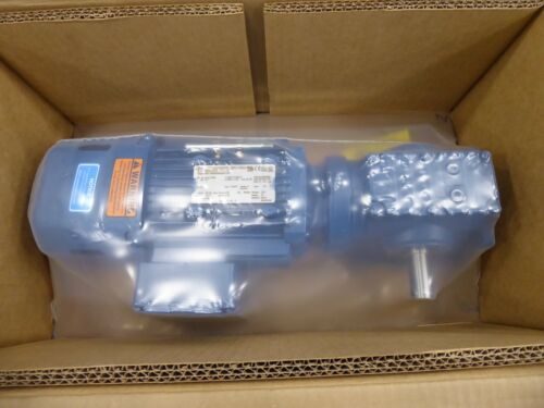 SEW Eurodrive S47DRE80M4BE1HR Electric Motor and Reduction Box 1 HP 1740 RPM