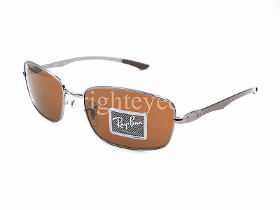 eb85d8ea88 Authentic RAY-BAN Tech Carbon Fibre Gunmetal Sunglasses RB 8308 - 004  NEW