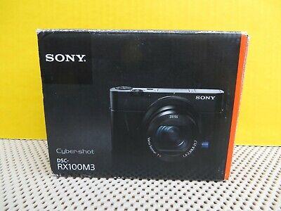 Mint Sony CyberShot DSC-RX100 III 20.3MP Digital Camera with BOX
