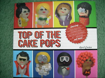 TOP OF THE CAKE POPS, LOLLY ICING DECORATED CAKES ON A STICK