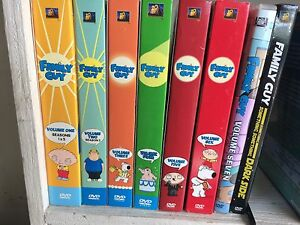 Family Guy DVD collection - volume 1-7+