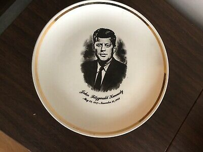 JOHN KENNEDY..IN MEMORIAM..PLATE