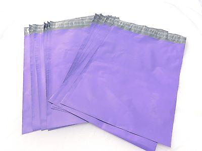 20 Purple 12x15 Flat Poly Postal Mailer Envelopes Self Seal Usps Shipping Bag