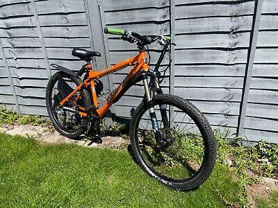 Mens Mountain Bike - Orange Crush medium 17 high spec