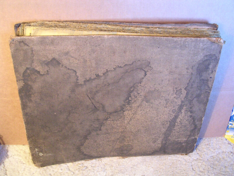 Large Folio Book of 600+ Canadian Pacific Despatch Tissue Railroad Receipts/1900