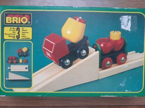 Brio Track Train Cement Truck 33522