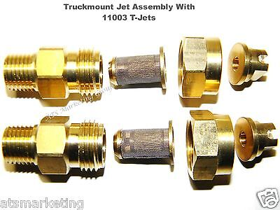 Carpet Cleaning - Truckmount 11003 T-jet Assembly For Wands