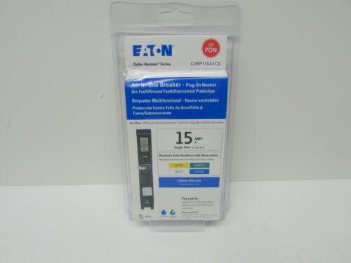 Eaton All-In-One Breaker Plug-On 15A Single-Pole CHFP115A1CS New