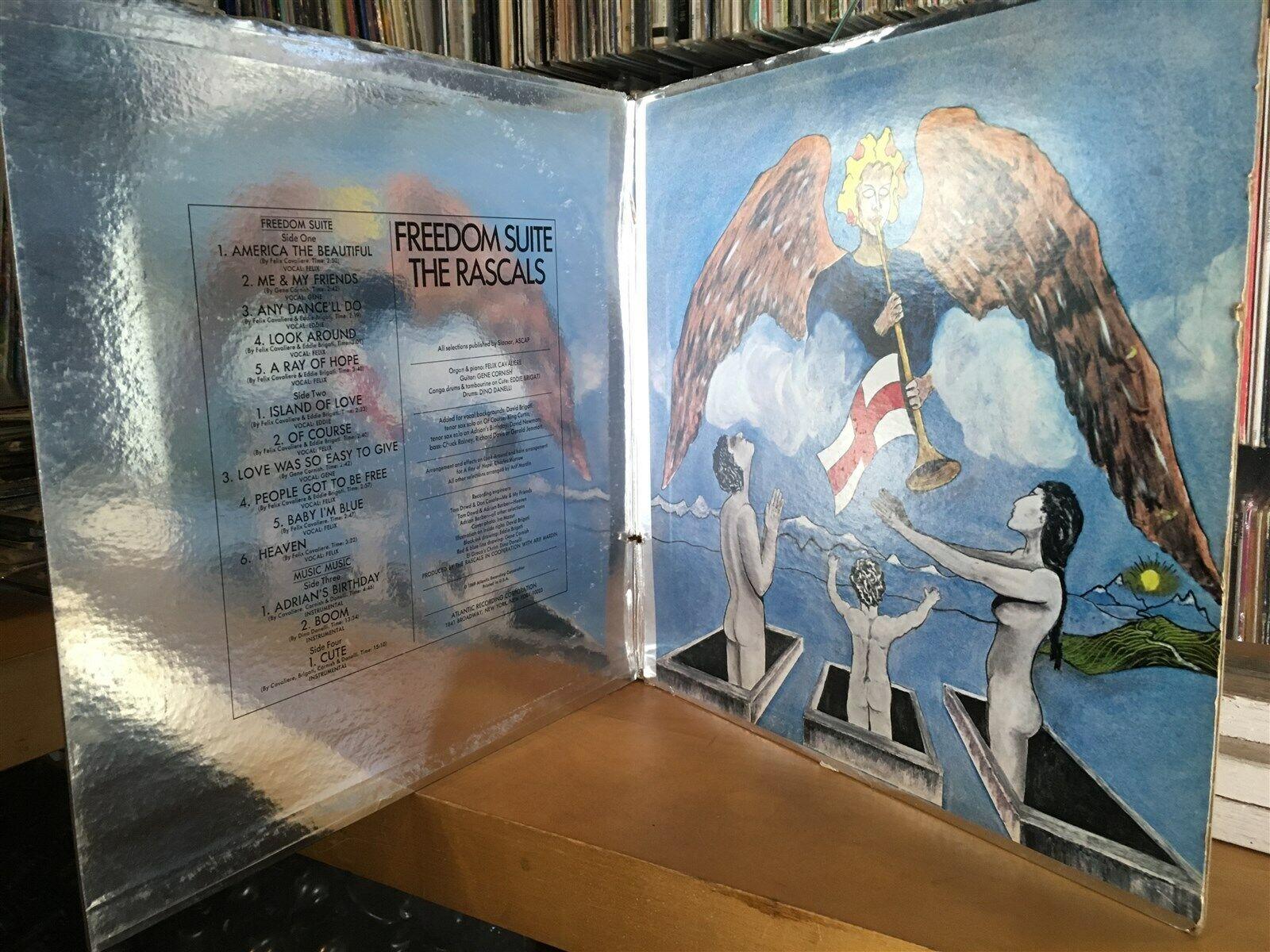 [ROCK/POP]~EXC 2 DOUBLE LP~The RASCALS~Freedom Suite~[OG 1969~ATLANTIC~Issue]
