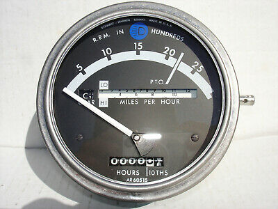 John Deere Ar60515 4230 4430 4040 4240 4440 Qr Tachometer Original Rare Nos
