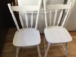 Wood Dining chairs- available