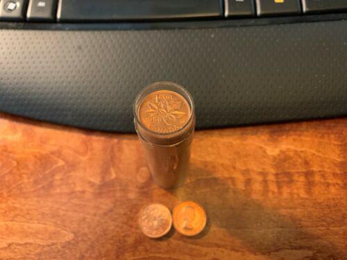 1958 Canadian BU One Cent Elizabeth II Coin Roll