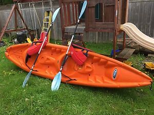 Pelican apex 130t two seater kayak ready to go!!