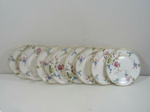 """Set of (8) Castleton Sunnyvale 6 3/8"""" Bread and Butter Plates"""