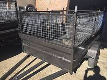 8X5 HI SIDE 600MM CAGE 1Y REGO PICK UP TODAY $1550 Penrith Area Preview