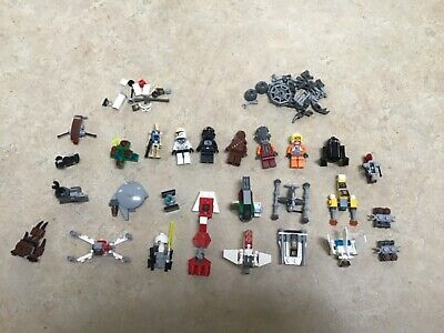 2011 Star Wars Advent calendar Legos and misc. Legos (not complete)
