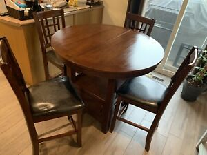 Dining table pub height
