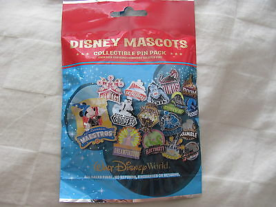 Disney Trading Pins 115854 WDW - Disney Mascots Mystery Pin Pack