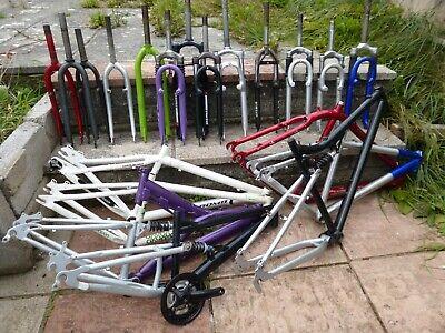 Job lot of bicycle frames & forks