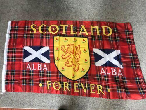 Scotland Forever Alba  Scottish Saltire flag 150 x 90