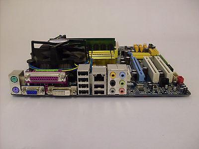 Mainboard Bundle Gigabyte GA-EQ45M-S2 + CPU INTEL Core2Duo E8400 + 4 GB DDR2 RAM