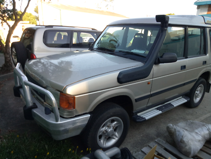 1997 Land Rover Discovery Wagon auto rego new head