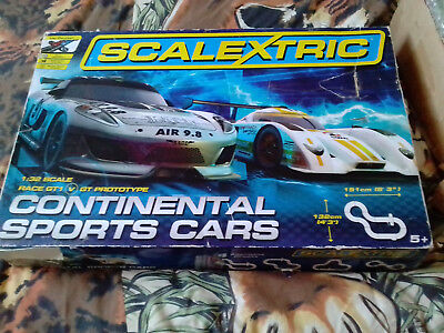 Scalextric 1:32 Continental Sports Cars Race GT1 - GT Prototype Set Plus EXTRAS for sale  Shipping to Nigeria