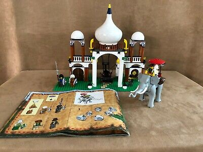 7418 LEGO Complete Scorpion Palace Orient Expedition vintage gray Elephant