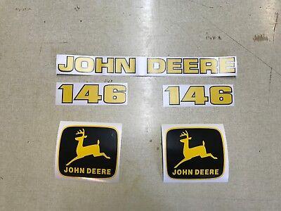 John Deere 146 Loader Decals