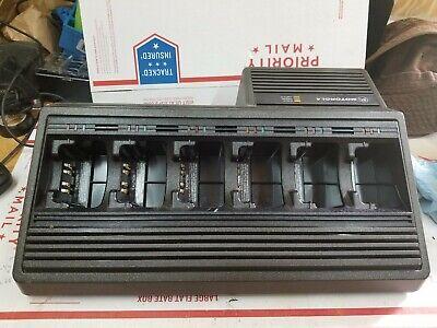 Motorola Ntn1177c 6 Bank Gang Charger For Motorola Jedi Radios Ht1000 Mts2000